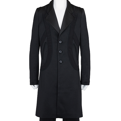 KIKO KOSTADINOV_00082020 LASSO LONG JACKET_BLACK