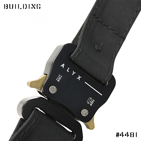 ALYX×MACKINTOSH_MACKINTOSH CLOTH BELT_BLACK