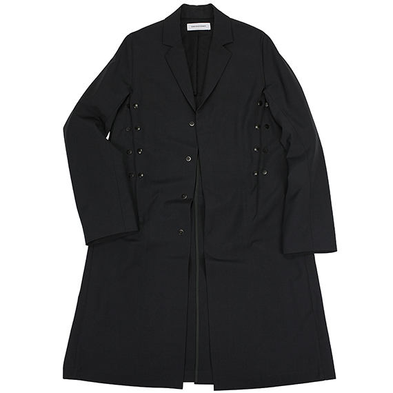 KIKO KOSTADINOV_SNAP COAT_DARK GREY