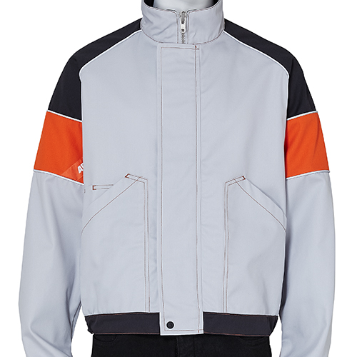 AFFIX_WORK JACKET_GREY×ORANGE