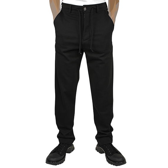 FRED PERRY LAUREL WREATH SPECIAL EDITION FOR ELIMINATOR_PANTS_BLACK