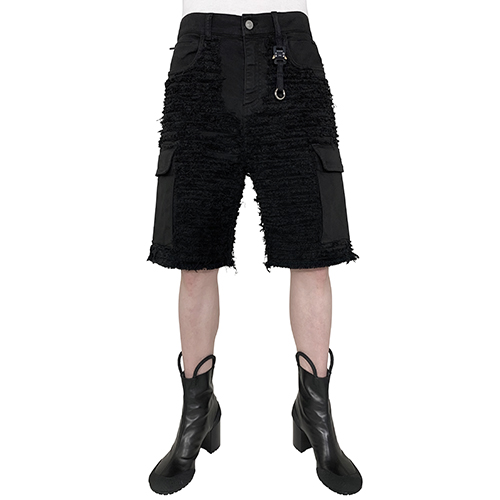 1017 ALYX 9SM_BLACKMEANS COLLABORATION SHORT_BLACK