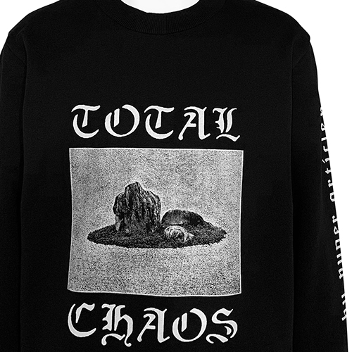 VYNER ARTICLES_TOTAL CHAOS SWEAT_BLACK