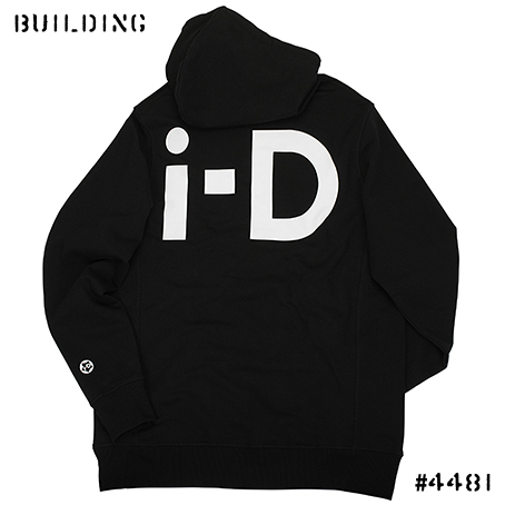 i-D MAGAZINE_SWEAT HOODIE_BLACK