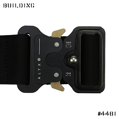 ALYX_18A/W JAQUARD BELT_BLACK