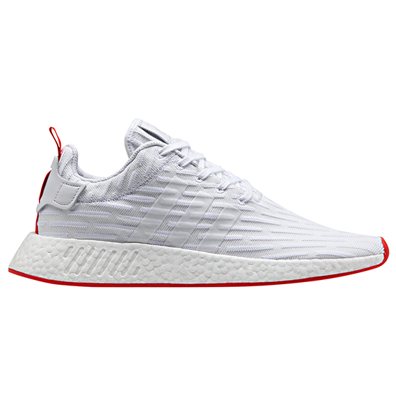 adidas ORIGINALS_NMD R2_WHITE×RED