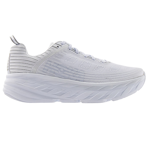 HOKA ONE ONE_BONDI 6_ALL WHITE
