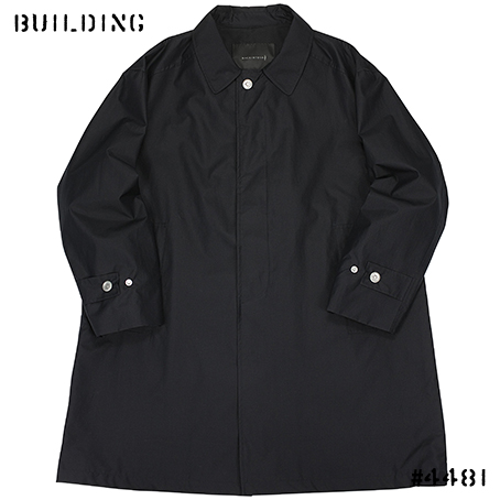 MACKINTOSH 0002_SOUTIEN COLLAR COAT_NAVY