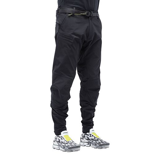 ACRONYM_P10-DS SCHOELLER® DRYSKIN ARTICULATED PANTS_BLACK