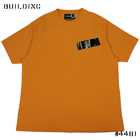RAF SIMONS×FRED PERRY_TAPE TEE SHIRT_ORANGE