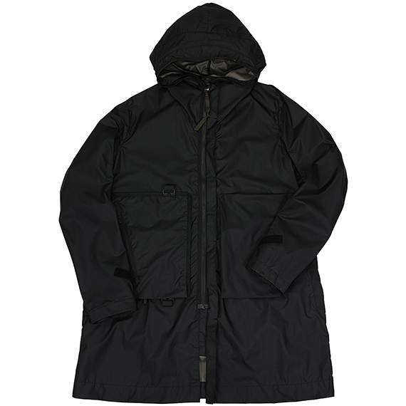 ACRONYM_J61-WS PACKABLE WINDSTOPPER ACTIVE SHELL PARKA_BLACK