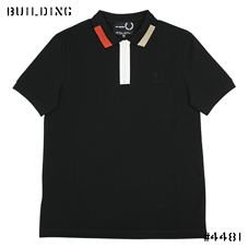RAF SIMONS×FRED PERRY_ZIP POLO_BLACK×RED×BEIGE