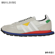 adidas ORIGINALS_PROTOTYPE FORMEL 1_WHITE×YELLOW×RED×BLUE
