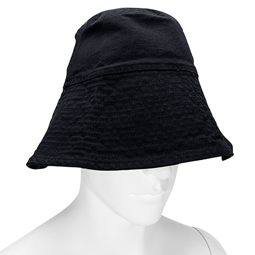 VYNER ARTICLES_BUCKET HAT_BLACK