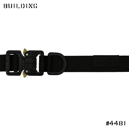 BAGJACK_18S/S NXL COBRA BUCKLE BELT [ NORMAL VER. ] _BLACK
