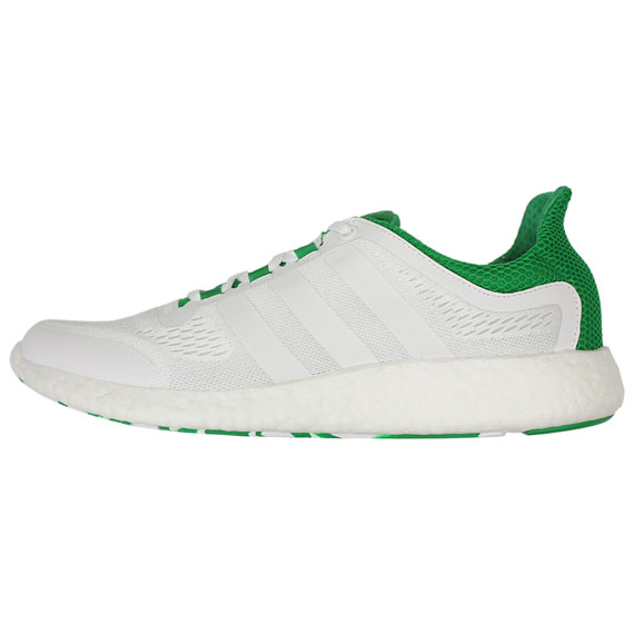 adidas_PURE BOOST CHILL_WHITE×GREEN