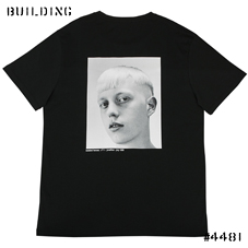 RAF SIMONS ISOLATED HEROES CAPSULE COLLECTION_BACK PRINT TEE [JONATHAN]_BLACK
