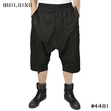 MAHARISHI_LONG SHORTS_BLACK