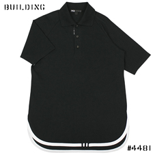 Y-3_PIPING POLO_BLACK