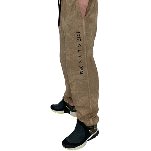 1017 ALYX 9SM_CAMO SWEAT PANTS_BEIGE