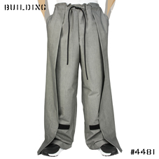 ITOKAWA FILM_VELCRO PANTS_GRAY