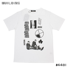 "PETER DE POTTER BY PROJECT_""END"" TEE SHIRT_WHITE"