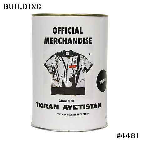 TIGRAN AVETISYAN_OVER PRINTED TEE SHIRT_BLACK