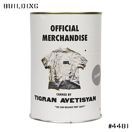 TIGRAN AVETISYAN_OVER PRINTED TEE SHIRT_GREY