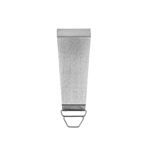 CLAUSTRUM_SWING KEY CASE ( STRAIGHT VIBRATION FINISH )_SILVER