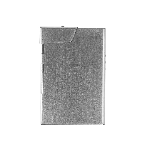 CLAUSTRUM_CARD/CIGARETTE CASE ( STRAIGHT VIBRATION FINISH )_SILVER