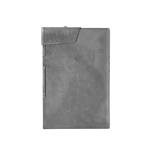 CLAUSTRUM_CARD/CIGARETTE CASE ( CONCRETE MATTE )_GREY