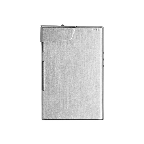 CLAUSTRUM_CARD/CIGARETTE CASE ( HAIRLINE )_SILVER