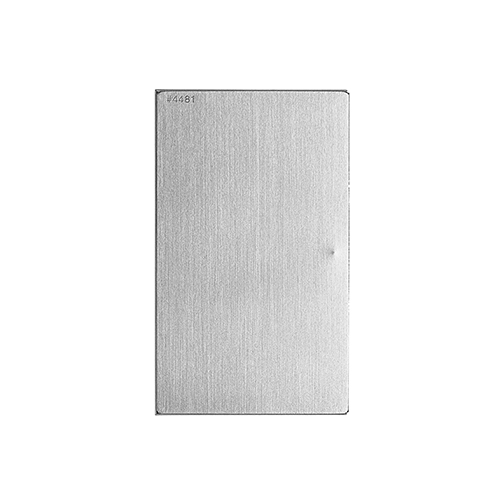 CLAUSTRUM_SV CARD CASE ( HAIRLINE )_SILVER