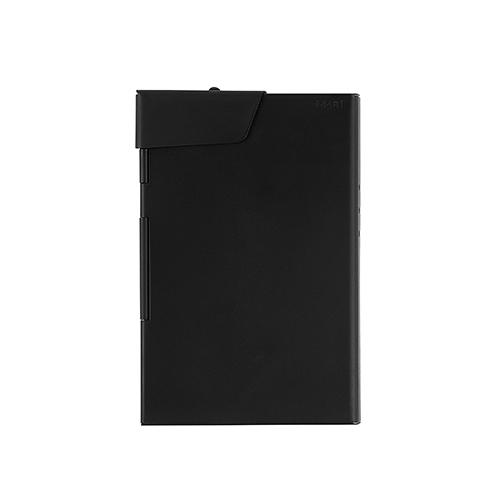 CLAUSTRUM_CARD/CIGARETTE CASE ( BLACKMATTE )_BLACK