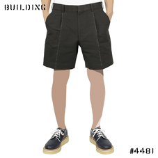 JOHN LAWRENCE SULLIVAN_COTTON HEMP SHORTS_BLACK