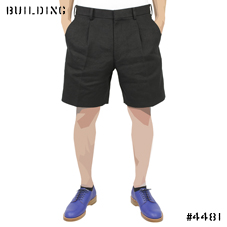 JOHN LAWRENCE SULLIVAN_LINEN SHORTS_BLACK