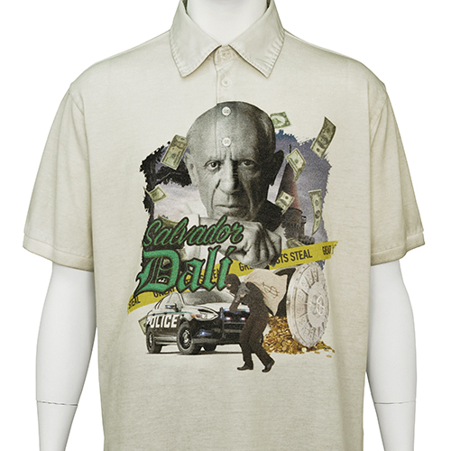TIGRAN AVETISYAN_POLO SHIRT [ PABLO PICASSO ]_BEIGE