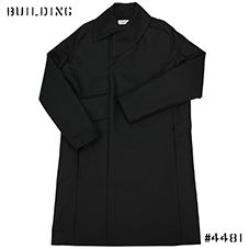 KIKO KOSTADINOV_LONG COAT WITH WRAPPED COLLAR AND BAG_BLACK