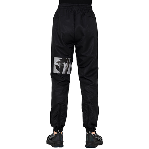 UMBRO×ALMOSTBLACK×PETER DE POTTER_COLLABORATION PANT_BLACK