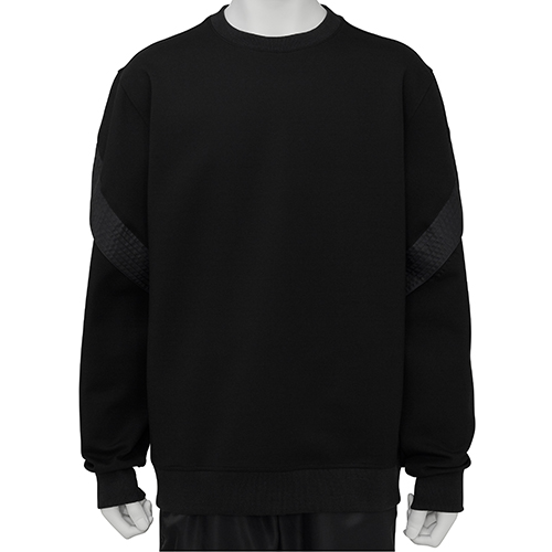 1017 ALYX 9SM_20AW CREW NECK SWEAT_BLACK