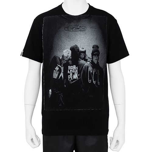 AVAILABLE NOWHERE : JUDY BLAME_PHOTO TEE_BLACK