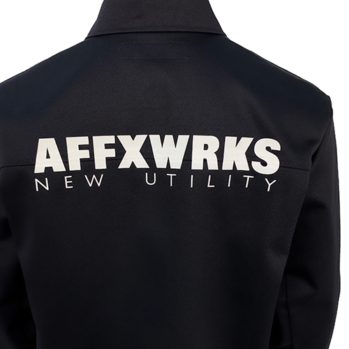 AFFIX_COACH JACKET_BLACK