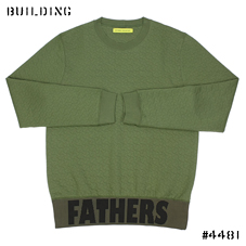 RAF SIMONS / STERLING RUBY_QUILTING SWEAT_KHAKI