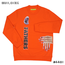 RAF SIMONS / STERLING RUBY_SWEAT[SHARK・FATHERS]_ORANGE