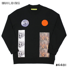 RAF SIMONS / STERLING RUBY_SWEAT[EARTH・STALACTITE]_BLACK