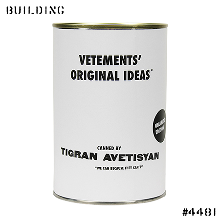 TIGRAN AVETISYAN_CANNED AIR [VETEMENTS]_WHITE