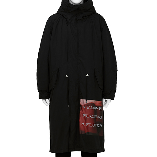 ALMOSTBLACK×PETER DE POTTER_MODS COAT_BLACK