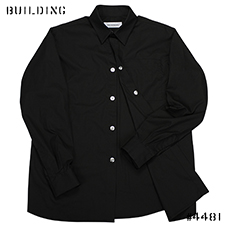 KIKO KOSTADINOV_SQUARE ARMHOLE GUARD SHIRT_BLACK