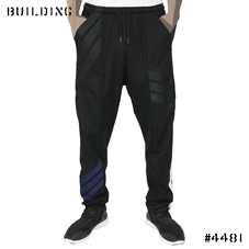 Y-3_STRIPE PANTS_BLACK