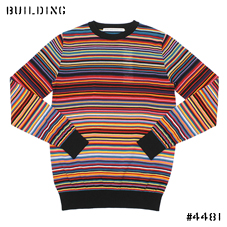 JOHN LAWRENCE SULLIVAN_RAINBOW KNIT_MULTI